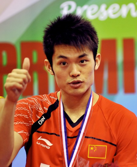 Lin Dan, one of the 'Top 5 Chinese sports celebrities' by China.org.cn