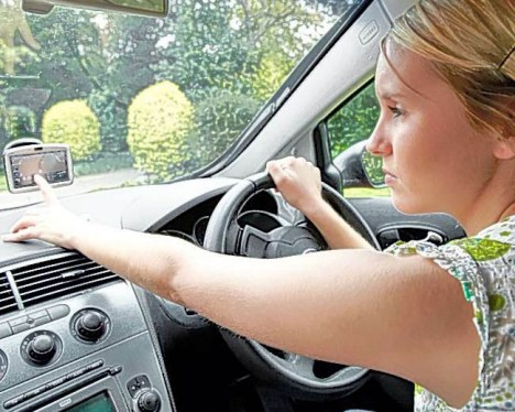 A fifth of all drivers admit to playing 'sat-nav racing', where they aim to beat the clock on their GPS.