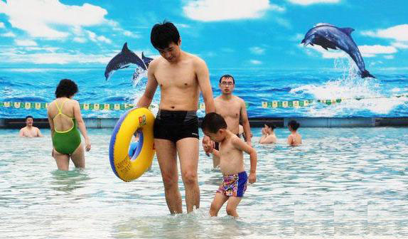 The City Seaview at Xiedao Resort, one of the 'Top 8 water parks in Beijing' by China.org.cn