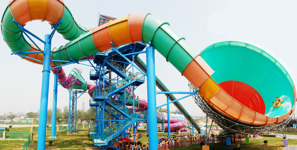 Happy Magic Watercube, one of the 'Top 8 water parks in Beijing' by China.org.cn