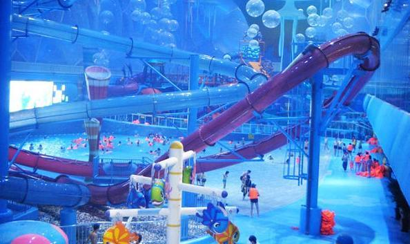 Water World in the Water Cube, one of the 'Top 8 water parks in Beijing' by China.org.cn.