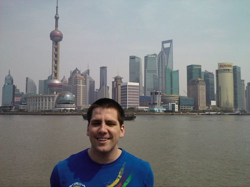 Bryan Spencer in Shanghai