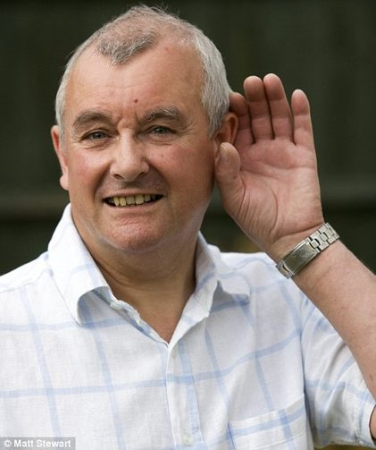 Stephen Mabbutt's hearing is improving all the time following surgery for a rare ear syndrome.