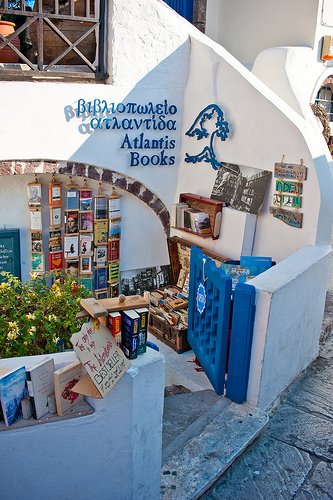 Atlantis Books,one of the 'Top 10 beautiful bookstores in the world' by China.org.cn.