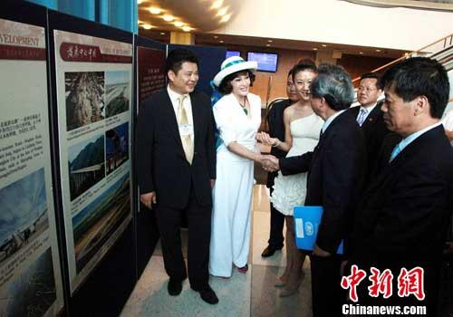 The exhibition is titled 'China in Development: 1911 to 2011.' There are about 100 precious pictures that fully reflect the development process during the 100 years beginning from 1911.