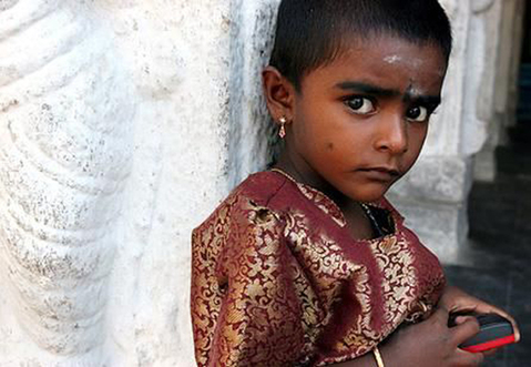A girl under the age of 18 is married every three seconds -- that's 10 ...