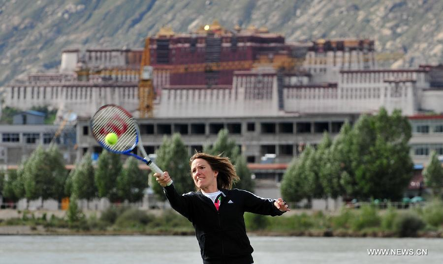 CHINA-TIBET-LHASA-TENNIS-CHINA OPEN-PROMOTION (CN)