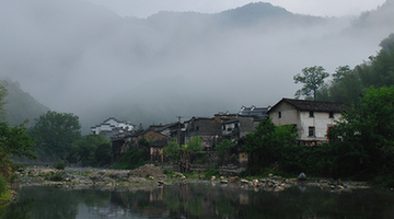 Picturesque Yaoli town, Jiangxi