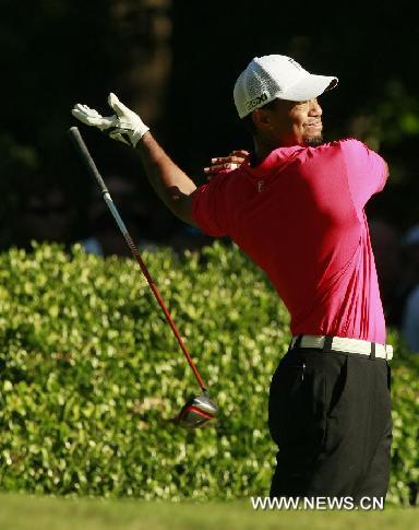 U.S.-GOLF-PGA CHAMPIONSHIP-TIGER WOODS
