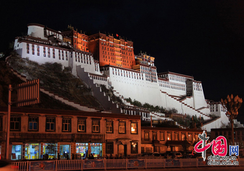 Lhasa, one of the 'Top 10 Chinese cities with best landscapes 2011' by China.org.cn.