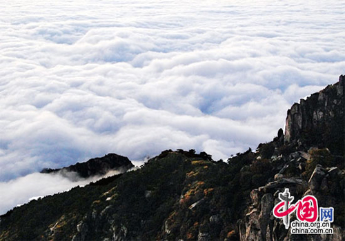 Tai'an, one of the 'Top 10 Chinese cities with best landscapes 2011' by China.org.cn.
