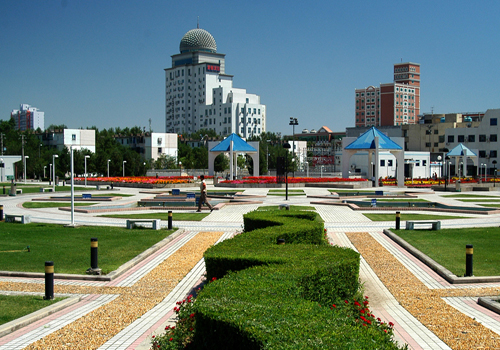 Karamay, one of the 'Top 10 Chinese cities with best landscapes 2011' by China.org.cn.