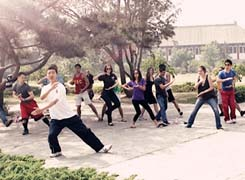 Tai Chi practice for beginners