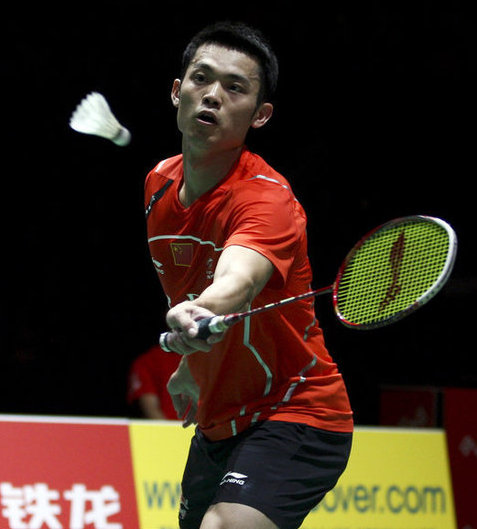 Lin Dan wins at badminton worlds