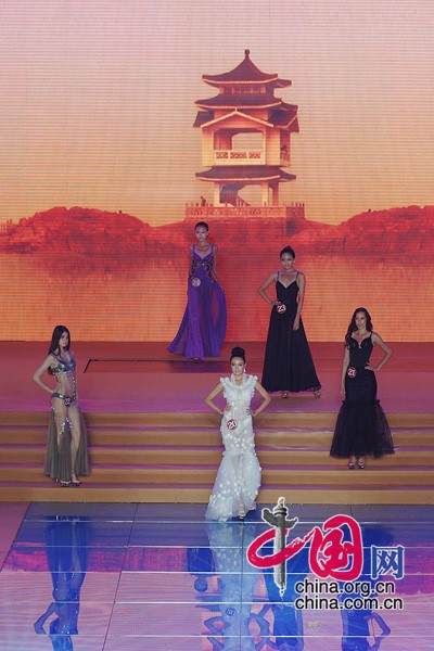Huludao China  City new picture : Huludao Int'l Swimsuit Model Competition china.org.cn