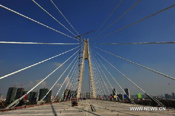 CHINA-WUHAN-YANGTZE RIVER- BRIDGE (CN)
