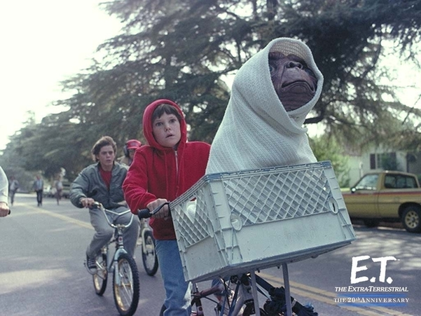 E.T. The Extra-Terrestrial, one of the 'Top 10 sci-fi and fantasy movies of all time' by China.org.cn.