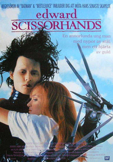 Edward Scissorhands, one of the 'Top 10 sci-fi and fantasy movies of all time' by China.org.cn.