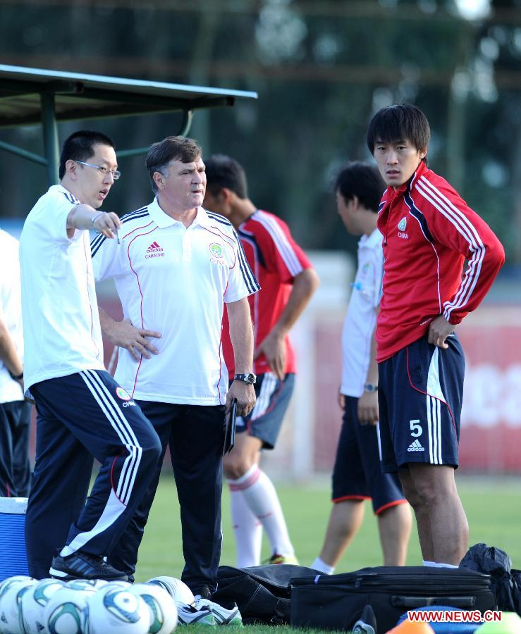 CHINA-KUNMING-SOCCER-CHINESE NATIONAL TEAM-TRAINING (CN)