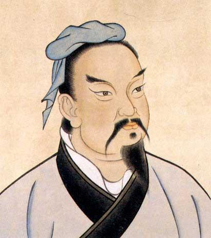 Sun Wu, one of the 'Top 10 Famous Generals of Ancient China' by China.org.cn.