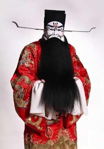 Meng Guanglu plays as Cao Cao