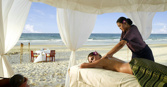 Banyan Tree Spa in Banyan Tree Sanya, one of the 'Top 5 best spas in Sanya' by China.org.cn.