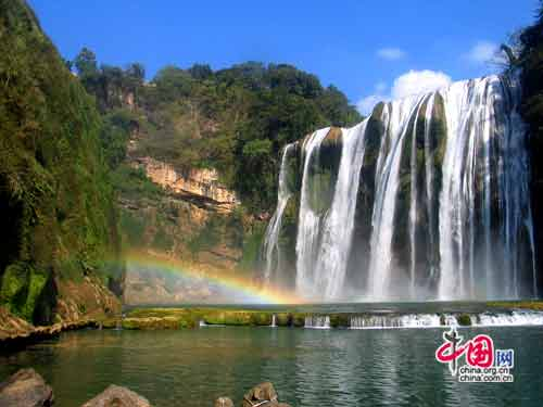Ban Gioc Waterfall The Most Beautiful In Vietnam Is One Of Invaluable Gift Nature For Cao Bang It Located Border China And