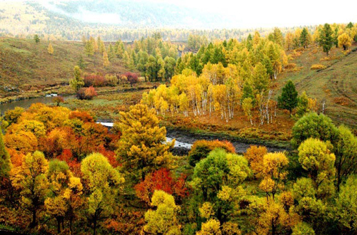 Aershan City,one of the 'Top 10 September destinations in China'by China.org.cn.