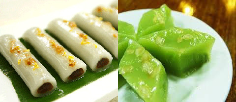 Tiaotou cake and mint cake, two of the 'top 10 most famous Shanghai snacks' by China.org.cn.