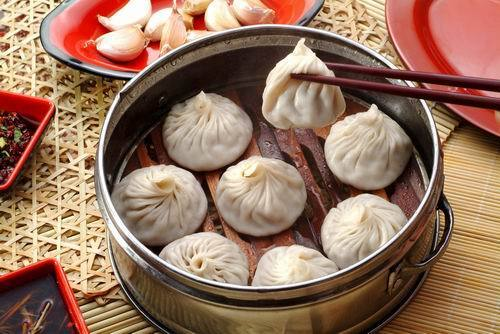 Nanxiang Steamed bun, one of the 'top 10 most famous Shanghai snacks' by China.org.cn.