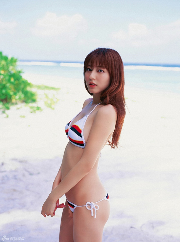 Yumi Sugimoto, a Japanese model, actress, gravure idol and singer