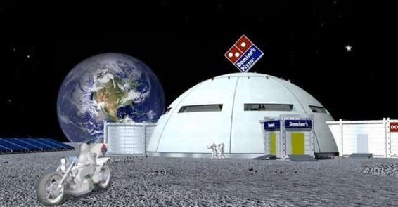 Plan to live on the Moon someday? You may be eating a lot of pizza once there. [Agencies]