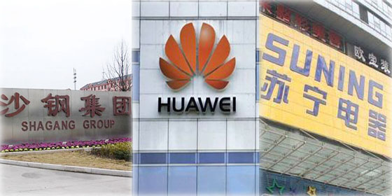 Top 10 private companies in China 2011