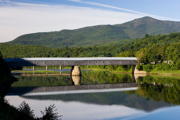 Cornish-Windsor Covered Bridge, one of the 'top 11 world's most incredible bridges' by Forbes.