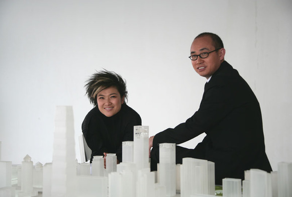 Pan Shiyi and Zhang Xin, one of the 'Top 10 wealthiest people in Beijing' by China.org.cn.