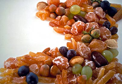 Preserved fruits, one of the 'top 10 foods harmful to your health' by China.org.cn.