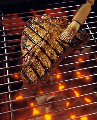 Barbecued foods, one of the 'top 10 foods harmful to your health' by China.org.cn.