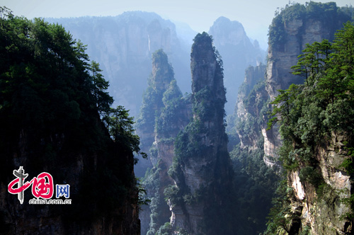 Zhangjiajie, one of the 'Top 8 October destinations in China' by China.org.cn.