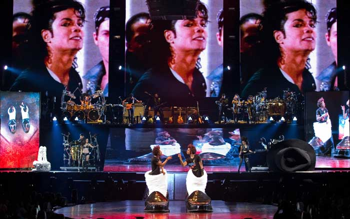 Michael Jackson Immortal Tour Cast