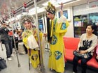 Kunqu Opera invades subway in Nanjing