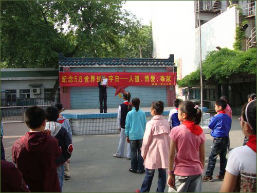 Anger as Red Cross targets schools - China org cn