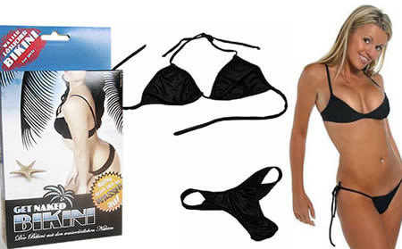 Get Naked Bikini, one of the 'Top 10 craziest bikinis' by China.org.cn.