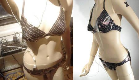 Solar bikini by Andrew Schneider, one of the 'Top 10 craziest bikinis' by China.org.cn.