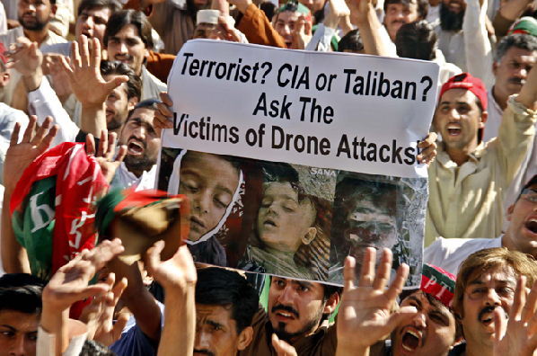 Drone attacks are widely unpopular in Pakistan due to the civilian casualties they have caused [EPA]