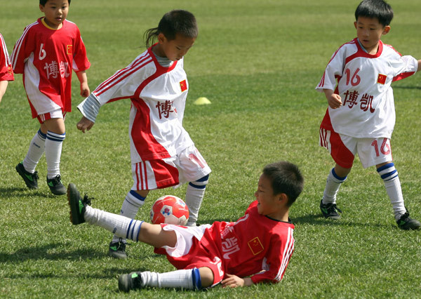 A changing game for soccer in China