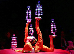 'Magic Music Box'--Acrobatics!