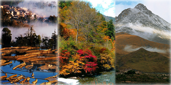 Top 8 November destinations in China
