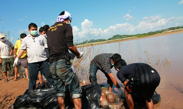 Two cargo ships, Huaping and Yu Xing 8, were attacked on Oct. 5 on Mekong River near the golden triangle area and 13 Chinese sailors were killed.