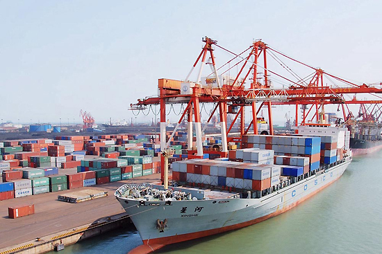 Tangshan Port, one of the 'top 10 ports in China' by China.org.cn.