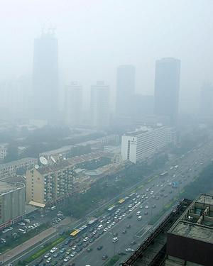 Beijing is to open its air-quality monitoring center to the public on a regular basis after criticism mounted over the methods it uses to gauge the city's notorious pollution. [File photo]